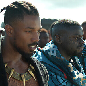 Michael B Jordan Hairstyle Black Panther - Best Haircut 2020